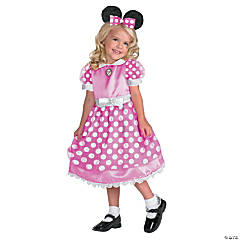 Girl's Pink Mickey Mouse Clubhouse™ Minnie Mouse Costume