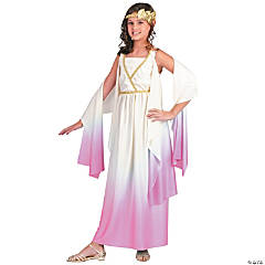 Girl's Pink Ombre Athena Costume - Medium