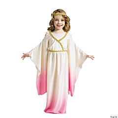 Girl's Pink Ombre Athena Costume