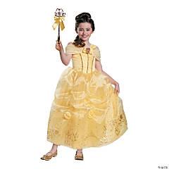 Girl's Prestige Disney's Beauty & the Beast™ Belle Costume - Medium