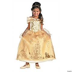 Girl's Prestige Disney's Beauty & the Beast™ Belle Costume - Small
