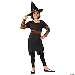 Girl's Pumpkin Patch Witch Costume - Small