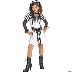 Girl's Punky Pirate Costume - Large