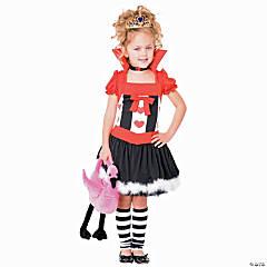 Girl's Queen of Hearts Costume