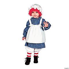 Girl's Raggedy Ann Costume