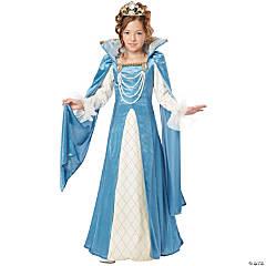 Girl's Renaissance Queen Costume - Medium