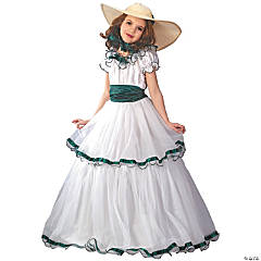 Girl's Southern Belle Costume - Large