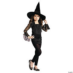 Girl's Sparkle Witch Costume - Large