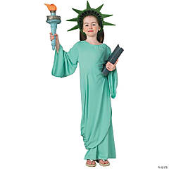 Girl's Statue of Liberty Costume - Small