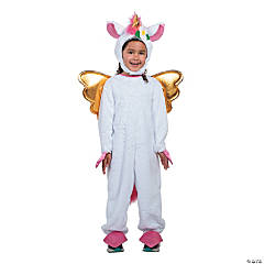 girls stuffed unicorn costume