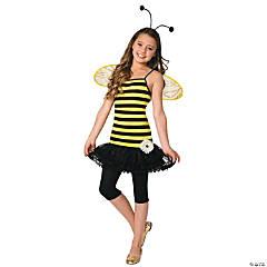 Girl's Sweet as Honey Bee Costume - Medium