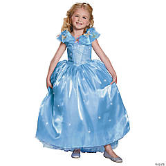 Girl's Ultra Prestige Cinderella Movie Halloween Costume - Extra Small