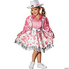 Girl's Western Diva Cowgirl Costume - Medium
