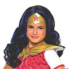 Girl's Wonder Woman™ Wig