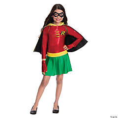 Girl's Batman™ Robin Dress Costume - Medium