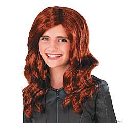 Girl's Black Widow Wig