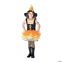Girl's Candyland Witch Costume - Extra Small