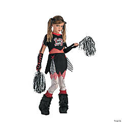 Girl's Cheerless Leader Costume - Extra Large