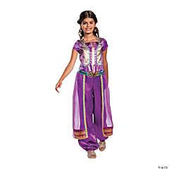 Girl's Classic Aladdin™ Live Action Purple Jasmine Costume - Extra Small