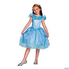 Girl's Classic Cinderella Movie Costume - Large