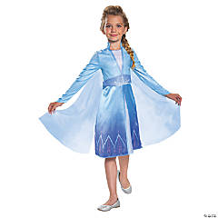 Girl's Classic Disney's Frozen II Elsa Costume - Extra Small