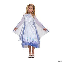 Girl's Classic Frozen II Snow Queen Elsa Costume - Small