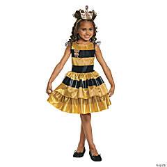 Girl's Classic L.O.L Surprise!™ Queen Bee Costume - Extra Small
