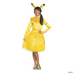 Girl's Classic Pokemon Pikachu Costume - Large