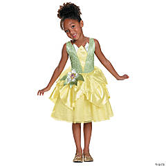 Girl's Classic Princess & the Frog™ Tiana Costume - Extra Small