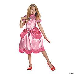 Girl's Classic Princess Peach Costume - Large
