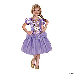 Girl's Classic Rapunzel Costume - Small