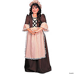 Girl's Colonial Costume - Large