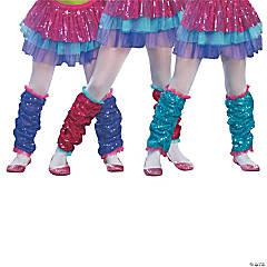 Girl's Dance Craze Leg Warmers - Turquoise