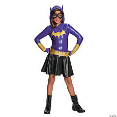 Girl's DC SuperHero Girls™ Batgirl Hooded Dress Costume - Large