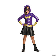 Girl's DC SuperHero Girls™ Batgirl Hooded Dress Costume - Small
