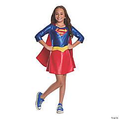 Girl's Deluxe DC SuperHero Girls™ Supergirl Costume - Medium