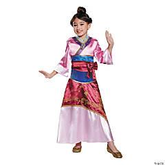 Girl's Deluxe Disney® Mulan Costume - Small
