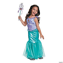 Girl's Deluxe Disney's The Little Mermaid™ Ariel Costume - Extra Small