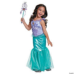 Girl's Deluxe Disney's The Little Mermaid™ Ariel Costume - Small