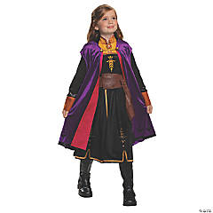 Girl's Deluxe Disney's Frozen II Anna Costume - Extra Small