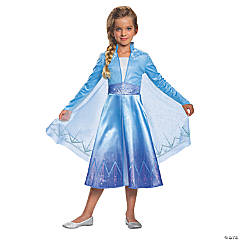 Girl's Deluxe Disney's Frozen II Elsa Costume - Extra Small