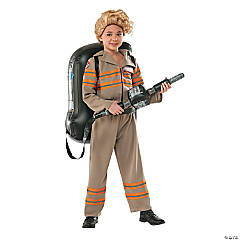 Girl's Deluxe Ghostbusters Costume - Small