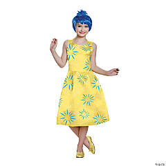 Girl's Deluxe Inside Out® Joy Costume