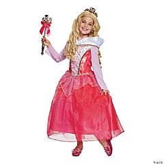 Girl's Deluxe Sleeping Beauty™ Aurora Costume - Extra Small