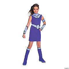 Girl's Deluxe Teen Titans Go Starfire Costume - Large