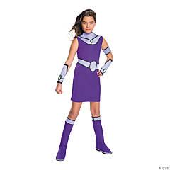 Girl's Deluxe Teen Titans Go Starfire Costume - Small