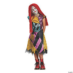 Girl's Deluxe The Nightmare Before Christmas Sally Costume - Large