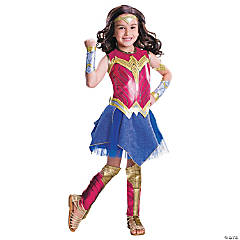 Girl's Deluxe Wonder Woman™ Costume - Large