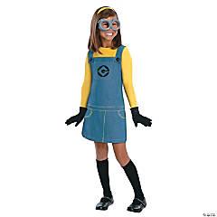 Girl's Despicable Me 2 Minion Costume - Small