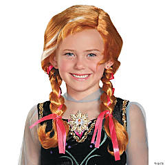 Girl's Disney's Frozen Anna Wig